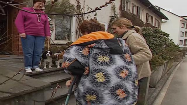 Bewerbungsflut für zivilen Ersatzdienst (Bundesplatz, 13.02.1997)
