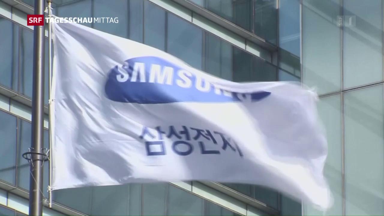 Samsung-Chef verhaftet