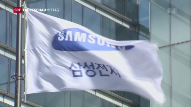 Video «Samsung-Chef verhaftet» abspielen