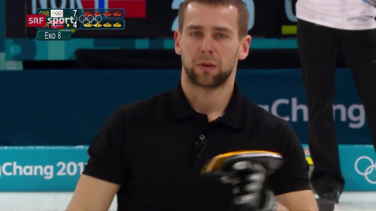 Russischer Mixed-Curler gedopt?