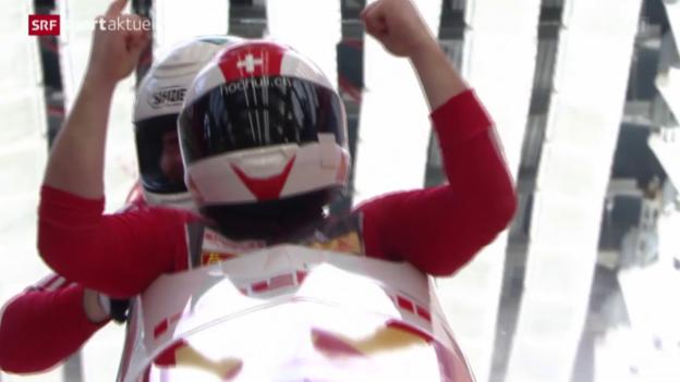Video «Bob: Weltcup in Sotschi» abspielen