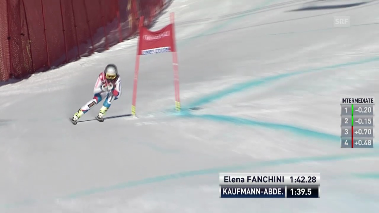 Ski: Kaufmann-Abderhaldens Fahrt in Lake Louise
