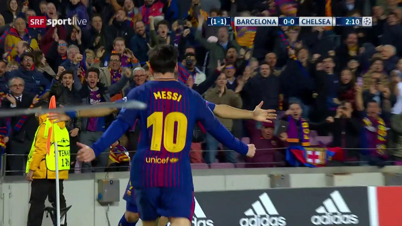 Messi zelebriert Fussball in Reinkultur
