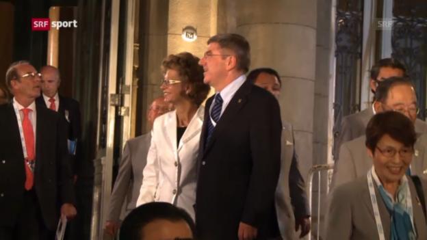 Video «IOC vor der Wahl des neuen Präsidenten («sportlounge»)» abspielen