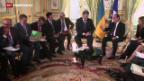 Video «Krisengespräche in Paris» abspielen
