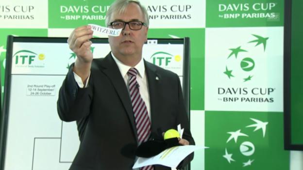 Video «Tennis: Die Schweiz muss nach Serbien» abspielen