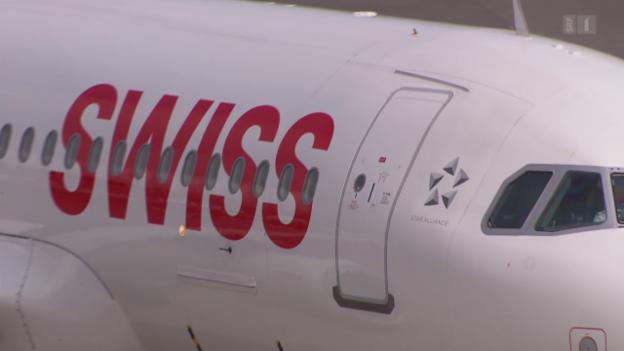 Video «Trotz bezahltem Ticket: Swiss lässt Passagiere nicht mitfliegen» abspielen