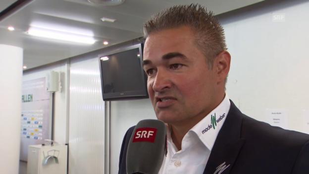 Video «Fussball: Super League, FCSG-Sportchef Stübi über Saibene-Weggang» abspielen