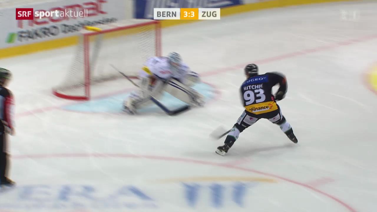 Eishockey: NLA, Bern - Zug