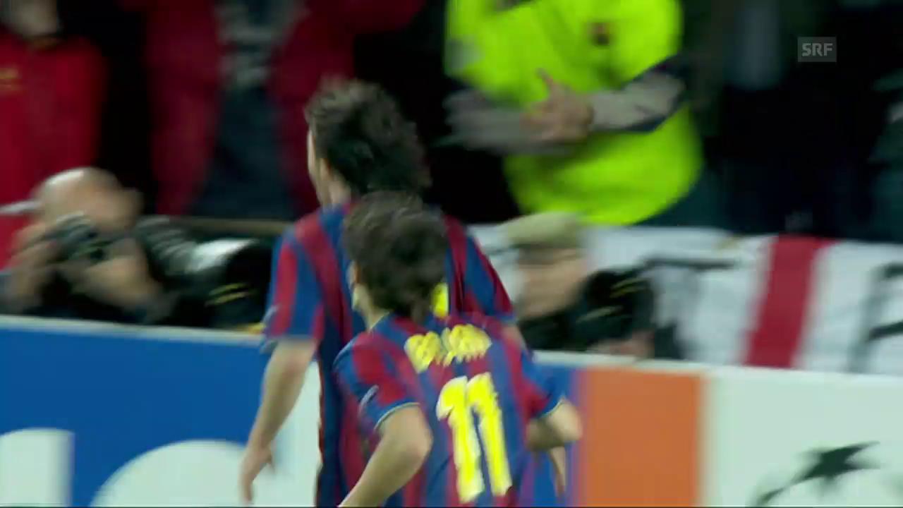 2010: Weitschuss gegen Arsenal