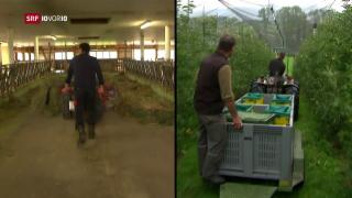 Video «FOKUS: Wie überlebt der Bauer der Zukunft?» abspielen