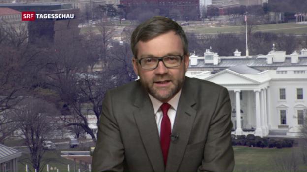 Video «US-Korrespondent Düggeli zu Flynns Rücktritt» abspielen