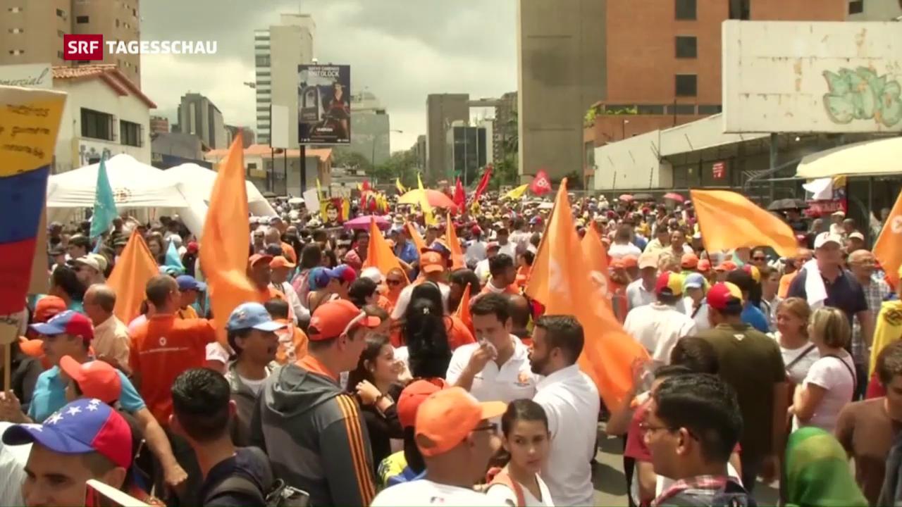 Venezuelas tiefe Politkrise