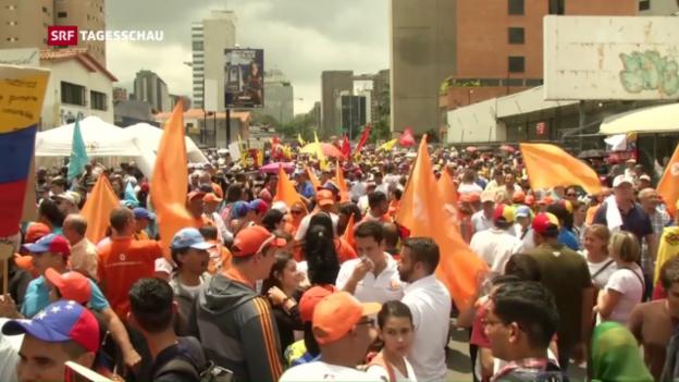 Video «Venezuelas tiefe Politkrise» abspielen