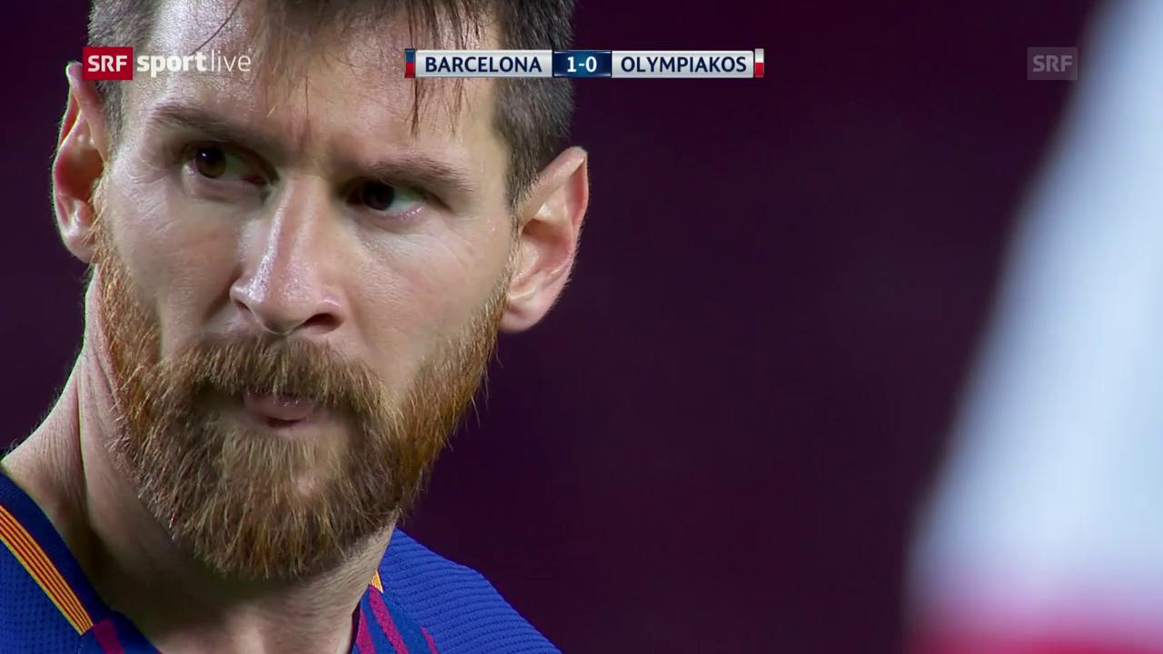 Barcelona siegt auch gegen Piräus