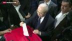 Video «Erste freie Präsidentschaftswahlen in Tunesien» abspielen