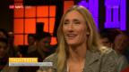 Video «Tanja Frieden musste nach dem Olympiasieg im Hotelgang schlafen» abspielen