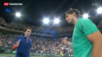 Video «Federer scheitert in Indian Wells an Nadal» abspielen