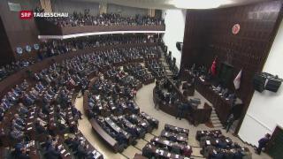 Video «Türkei-Referendum: Opposition fordert Annullation» abspielen
