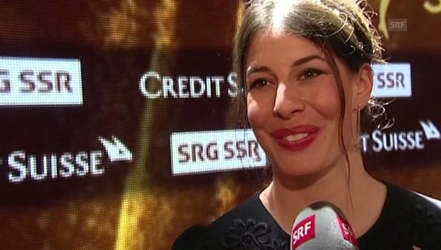 Video «Dominique Gisin über ihre Wahl zur Sportlerin des Jahres» abspielen