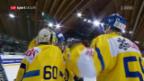 Video «HCD besiegt Minsk, verpasst aber Platz 1» abspielen
