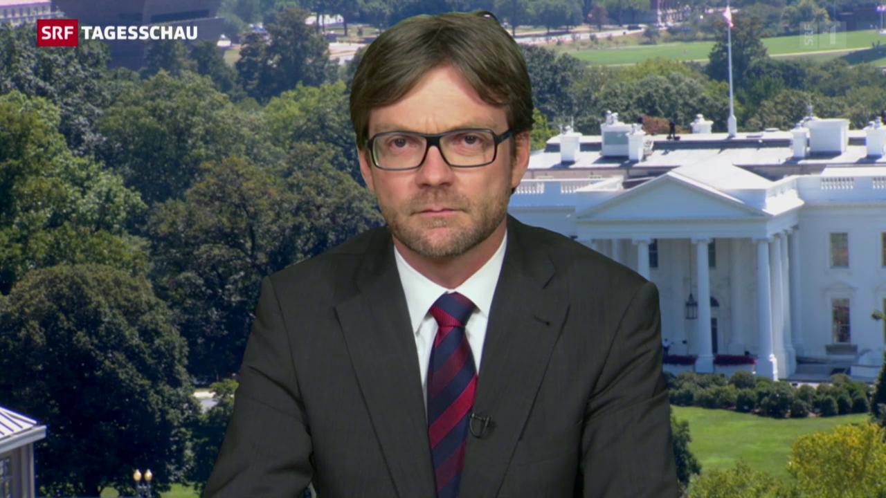 SRF-Korrespondent Düggeli zum Schweigen aus Washington