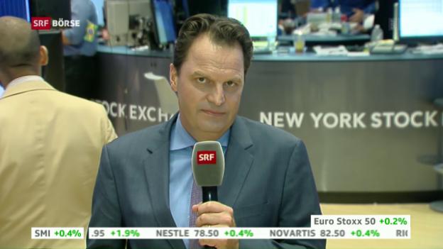 Video «SRF Börse vom 26.07.2016» abspielen