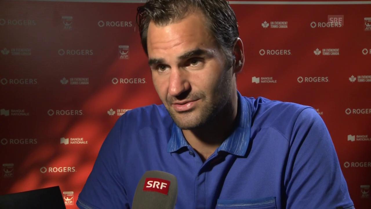 Federer: «Tut mir leid, dass ich schon wieder im Final bin»