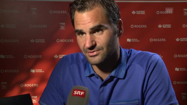 Video «Federer: «Tut mir leid, dass ich schon wieder im Final bin»» abspielen