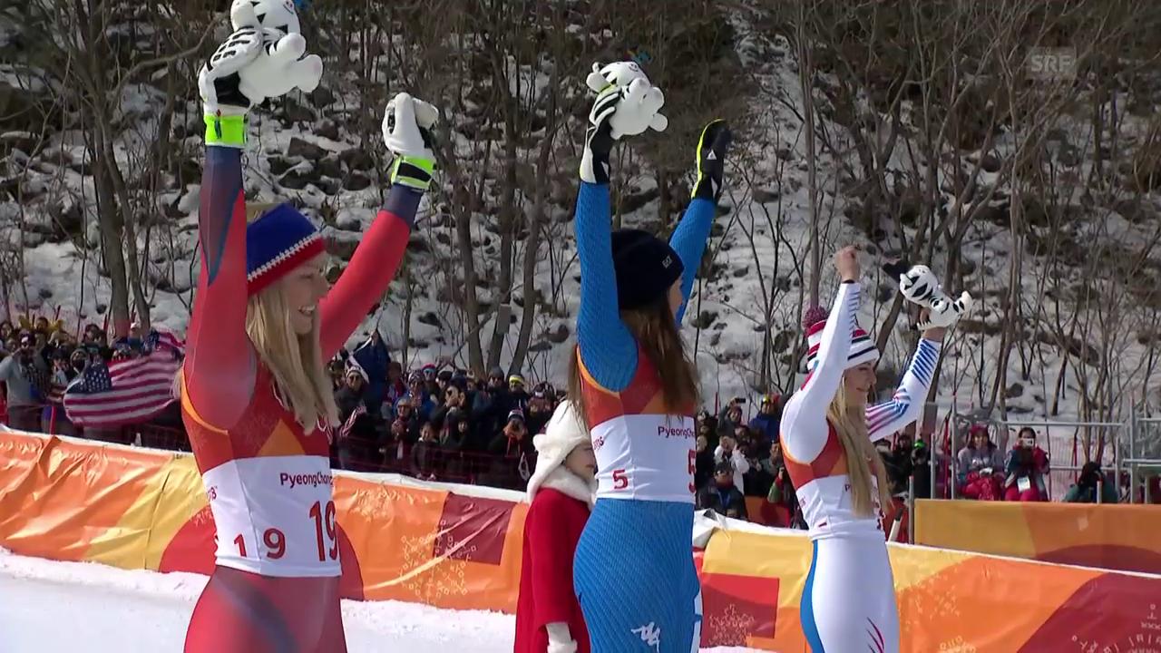 Goggia wird zur ersten italienischen Abfahrts-Olympiasiegerin
