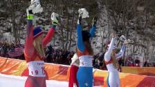 Link öffnet eine Lightbox. Video Goggia wird zur ersten italienischen Abfahrts-Olympiasiegerin abspielen