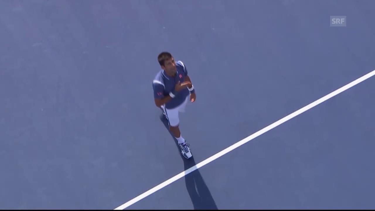 Djokovic in Toronto nicht zu schlagen