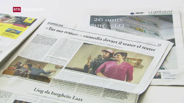 Laschar ir video «La Quotidiana e l'ANR festiveschan 20 onns»