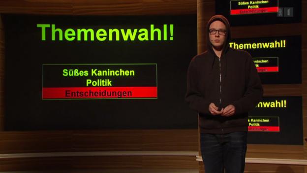 Video «Auftritt: Nico Semsrott» abspielen