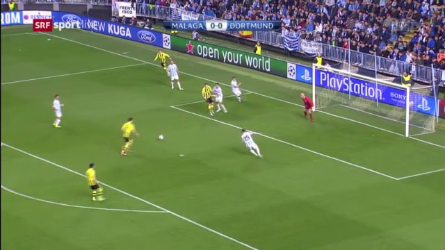 Highlights Malaga - Dortmund