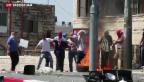 Video «Möglicher Racheakt für den Mord an drei jungen Israeli» abspielen