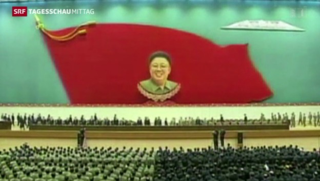 Video «Feierlichkeiten in Nordkorea» abspielen