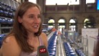 Video «Stabhochspringerin Nicole Büchler vor Weltklasse Zürich» abspielen