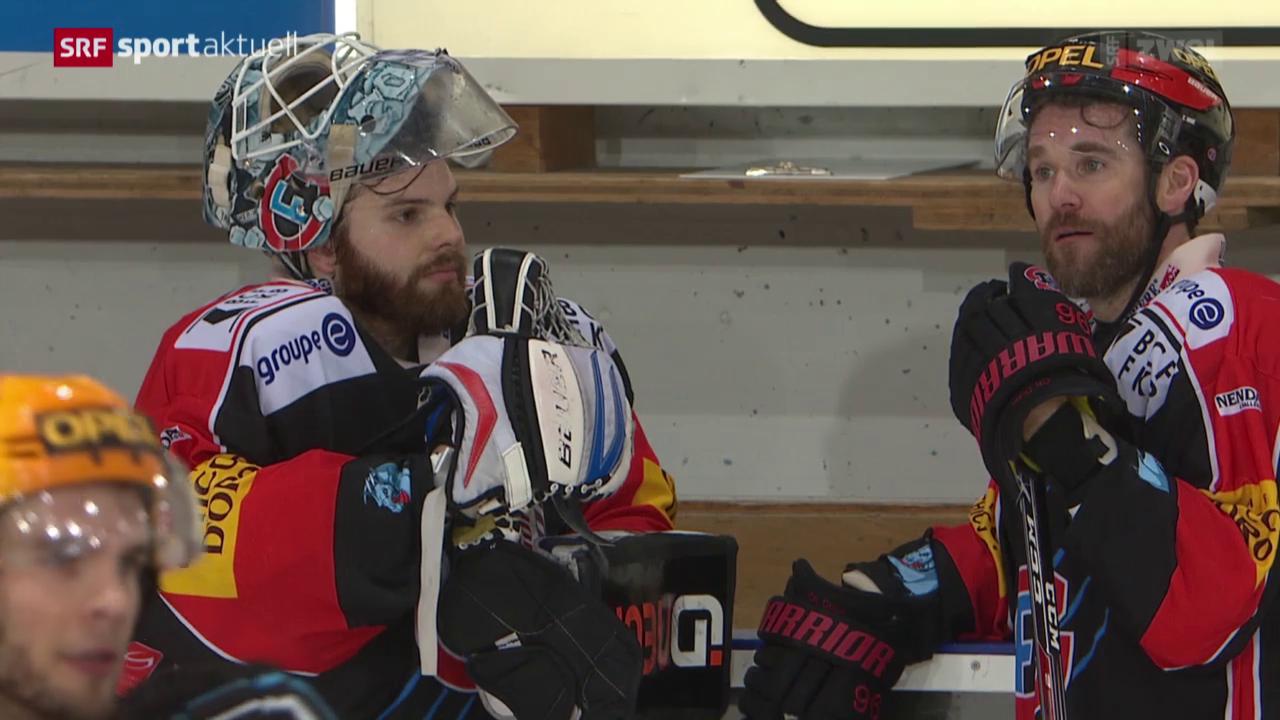 Eishockey, NLA: Freiburg - Zug