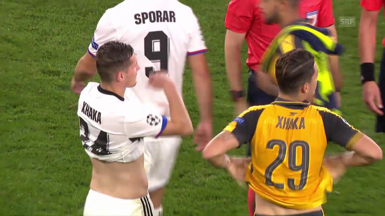 Basel bleibt gegen Arsenal chancenlos
