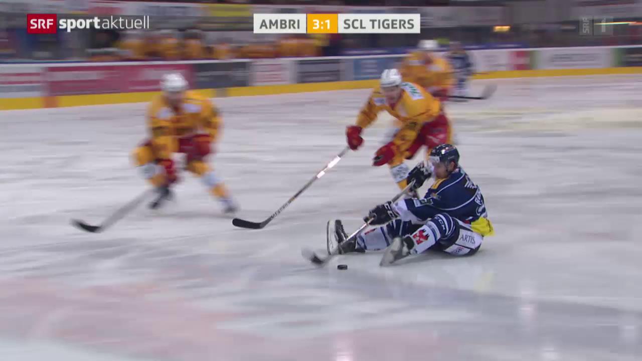 Eishockey: NLA, Ambri Fuchs Assist