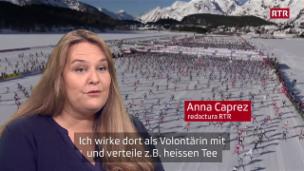 Laschar ir video «Il maraton da skis engiadinais - nus eran là, vus eras là»