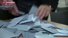Video «Franzosen nicht in Wahllaune» abspielen