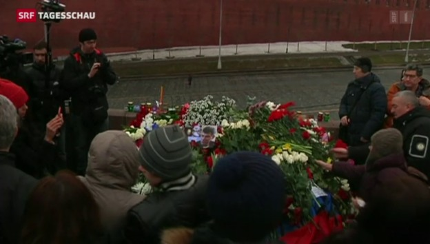 Video «Boris Nemzow auf offener Strasse erschossen» abspielen