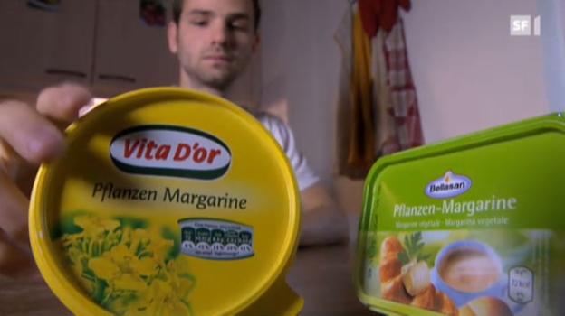 Video «Pflanzen-Margarine von Lidl und Aldi» abspielen