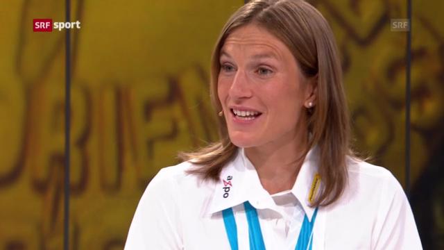 Gespräch mit Simone Niggli («sportpanorama»)