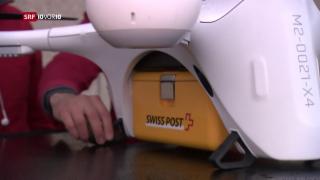 Video «Hindernisse für Drohnen-Kuriere» abspielen