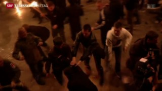 Video «Putin weist Anschuldigungen zurück» abspielen