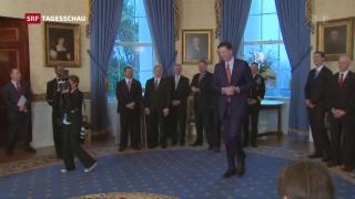 Video «Trump feuert FBI-Chef Comey» abspielen