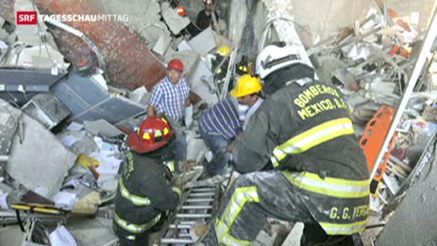 Video «Explosion in Mexiko fordert viele Tote» abspielen